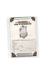 """TESSERA_TESSERE_DOCUMENTO/I-""""IL I° CENTENARIO DI ZIO PAPERONE""""(1994) ROMA-TESSERA COLLEZIONISTA-ORIGINALE 100% - Sammlungen"""