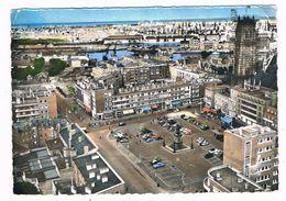 DUNKERQUE  59  Vue Aerienne Place Jean Bart .1961 - Dunkerque