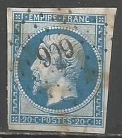 FRANCE - Oblitération Petits Chiffres LP 909 COLMARS-LES-ALPES (Basses-Alpes) - 1849-1876: Période Classique