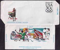 USA - 1984 - Airmail - Aerogram - Olympic Games 1984 - Poste Aérienne