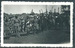 """A.O.I ETIOPIA  UFFICIALI E SCIUMBASCI*  ERITREI ALLA FESTIVITA' RELIGIOSA DEL """" MASCAL"""" - War, Military"""