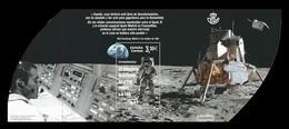 Spain 2019 Mih. 5362 (Bl.325) Space. Apollo 11. Moon Landing MNH ** - 1931-Today: 2nd Rep - ... Juan Carlos I
