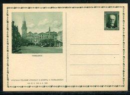"""Tschechoslowakei / 1931 / Bildpostkarte """"PARDUBICE"""" Mi. P 51 ** (19712) - Ganzsachen"""
