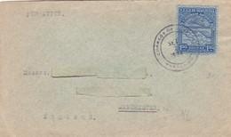 1934 VENEZUELA AIRMAIL COVER. CIRCULEE TO ENGLAND- BLEUP - Venezuela