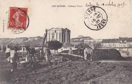 13 / LANCON /LES BAISSES / CHATEAU VIRANT / RARE ET TRES BELLE CARTE - France