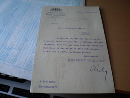 Budapest Dreher Antal Kobanyai Serfozdeje Brewery Anton Dreher S Brauerein 1903 - Facturas & Documentos Mercantiles
