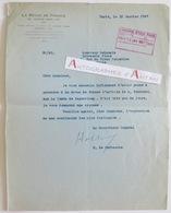 Lettre 1927 Horace De CARBUCCIA (famille Corse) - Comte De KEYSERLING - La Revue De France - Signature Autographe - Autógrafos