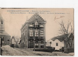 "BERCHEM-SAINTE-AGATHE  -  Brasserie ""La Couronne"" - Berchem-Ste-Agathe - St-Agatha-Berchem"