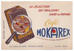 - BUVARD Café MOKAREX - 101, Avenue Jean-Jaurès - ÉPINAY-SUR-SEINE - - Café & Té