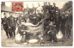CARTE PHOTO - 1912 - CAMP DU RUCHARD (37) - Groupe De Militaires - Regiments