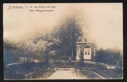 OVERMEIRE  FOTOKAART  IN HET PARK VAN DEN HEER BURGEMEESTER - Berlare