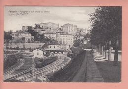 OLD POSTCARD -  ITALY - ITALIA - TRAIN - TRENO - PERUGIA - STAZIONE - Perugia