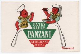 - BUVARD PATES SAUCE PANZANI - PARTHENAY - Dessin H. MORVAN - - Alimentaire