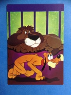 CARTOLINA FORMATO GRANDE NON VIAGGIATA WALT DISNEY 106 3056 PLUTO LEONE - Disney