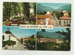 SALUTI DA ACERNO - VEDUTE   VIAGGIATA FG - Salerno