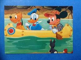 CARTOLINA FORMATO GRANDE NON VIAGGIATA WALT DISNEY 106 3059 TOPOLINO PAPERINO PLUTO - Disney