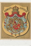 AN 511 / ETIQUETTE     VERMOUTH   SUPERIEUR - Labels