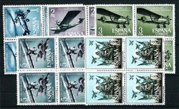 España Nº 1401/5 (bloque-4) Nuevo Cat.31€ - 1961-70 Unused Stamps