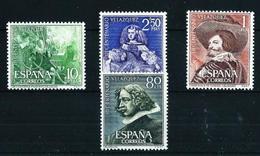 España Nº 1340/3 Nuevo Cat.21€ - 1961-70 Unused Stamps