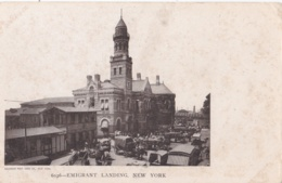 ETATS UNIS :   NEW-YORK :  Ellis Island : Emigrant Landing - Ellis Island