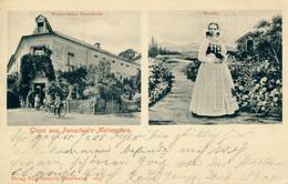 PANSCHWITZ-MARIENSTERN - 1910 , Weinschänke , Wendin In Tracht - Allemagne