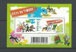 "FR Bloc YT F4341 Feuille "" Fête Du Timbre, Looney "" 2009 Neuf** - France"