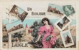 Un Bonjour De LAIGLE - L'AIGLE - Fantaisie - Multivues - L'Aigle
