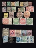 Turquie Anciens Timbres à Identifier - Collections (sans Albums)