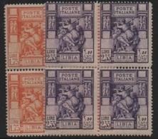 Italian Colonies-Italiennes (LIBIA) 1931 Libyan Sibyl-Sibylle Libyenne-Libysche Sibylle (bloc 4) ** - Libia