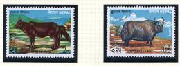 1973 - NEPAL  -  Mi. Nr.  291/292 - LH - (CW4755.44) - Nepal