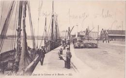 CPA - 169. CALAIS - Le Quai De La Colonne Et Le Bassin - Calais