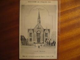 Souvenir  Pâques 1923 - Saint Quentin