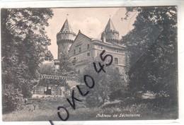 38 Château De Séchilienne (  Isère ) -  Environs De Grenoblvue De Profil Du Chateau Prise Du Parc  - CPA   Généalogie - France