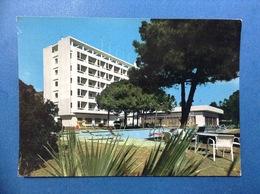 CARTOLINA FORMATO GRANDE VIAGGIATA S MARGHERITA DI PULA CAGLIARI GRAND HOTEL ABAMAR - Altre Città