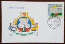 CM 2006 - YT N°3927 - ANNIVERSAIRE / BABAR - PARIS - Maximum Cards