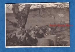 Photo Ancienne - Secteur SAINT AVOLD ( Moselle ) - Position Militaire à Situer - 1939 / 1940 - Voir Uniforme Fusil Arme - War, Military