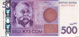 KYRGYZSTAN P.28 500 Som 2010 Unc - Kirgisistan