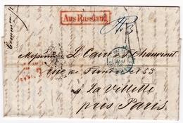 Riga 1858 Lettonie Julius Sturtz AUS RUSSLAND PRUSSE VALENCIENNES Papier Peint Latvija Латвия La Villette - Lettonie