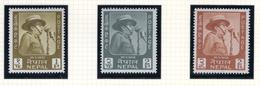 1964 - NEPAL  -  Mi. Nr.  182/183+184 - NH - (CW4755.44) - Nepal