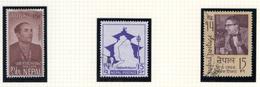 1966 - NEPAL  -  Mi. Nr.  197+199+203 - USED - (CW4755.45) - Nepal
