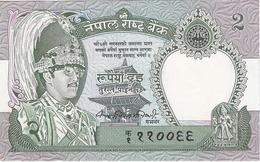 Nepal 2 Rupees 1981- (2) P-29a UNC /008B/ - Nepal
