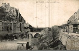 04 SISTERON  PONT SUR LA DURANCE - Sisteron