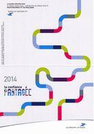 Calendrier Non Plié  La Poste 2014 La Confiance Partagée - Calendars