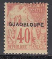 1891   Yvert Nº 24 MH - Guadalupe (1884-1947)