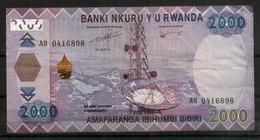 2000 Francs Rwandais, Billet Bon état - Rwanda