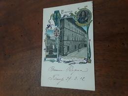 Cartolina Postale 1902, Firenze,  Palazzo Dei Pazzi, Il Carro, Pazzino De Pazzi - Firenze (Florence)