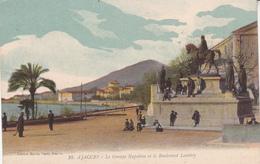 La Corse Ajaccio Le Groupe Napoléon Et Le Boulevard Lantivy éditeur Martin Paoli N°10 - Ajaccio