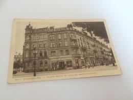 CA - 100 - STRASBOURG - Place Brant Et Quai Du Maire Dietrich - Strasbourg