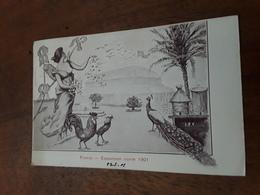 Cartolina Postale Illustrata 1901, Firenze, Esposizioni Riunite - Firenze (Florence)