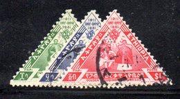 APR424 - ETIOPIA 1961, Serie Yvert N. 377/379 Usato  (2380A)  Nozze D'oro - Etiopia